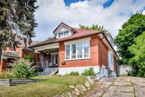 Charming home located close to downtown kitchener.