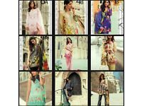 Wholesale & Retail Ladies Asian Fashion Clothing. Ramsha, Maria B, Mina Hasan, Agha Noor
