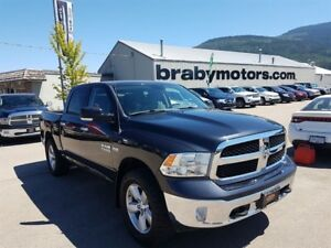2013 Ram 1500 SLT Crew Cab Nav, Bluetooth, Bucket Seats