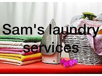 Sam's laundry services