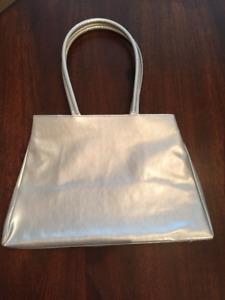 New grey bag - smaller, vinyl