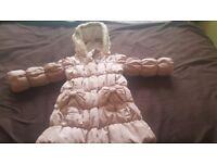 Girls 2-3 years pink coat