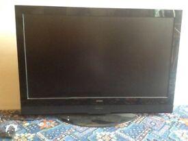 Big Hitachi Flat Screen TV