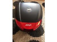 Givi topbox for motorcycle Honda