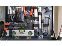 HALFORDS TOOL SET IN STRONG CASE