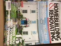Homebuilding & Renovating Magazines (Job Lot). 90 in total, good condition