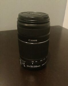 Canon 55-250 mm Lens For Sale