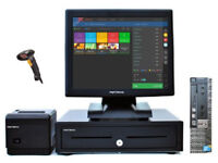 "17"" Touchscreen Retail/Hospitality EPOS POS Cash Register Till System (Dell Optiplex)"