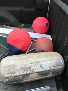 Different size Bouys