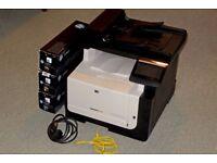 HP colour Laserjet MFP + Toners ( Printer )