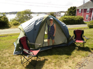 Woods 6 Dome tent &2 camp chairs