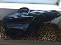 Selmer tenor sax guality leather case