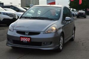 2007 Honda Fit Sport/LOW KM'S/ MINT CONDITION!!