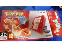 Nintendo 2DS Limited Edition Fire Red