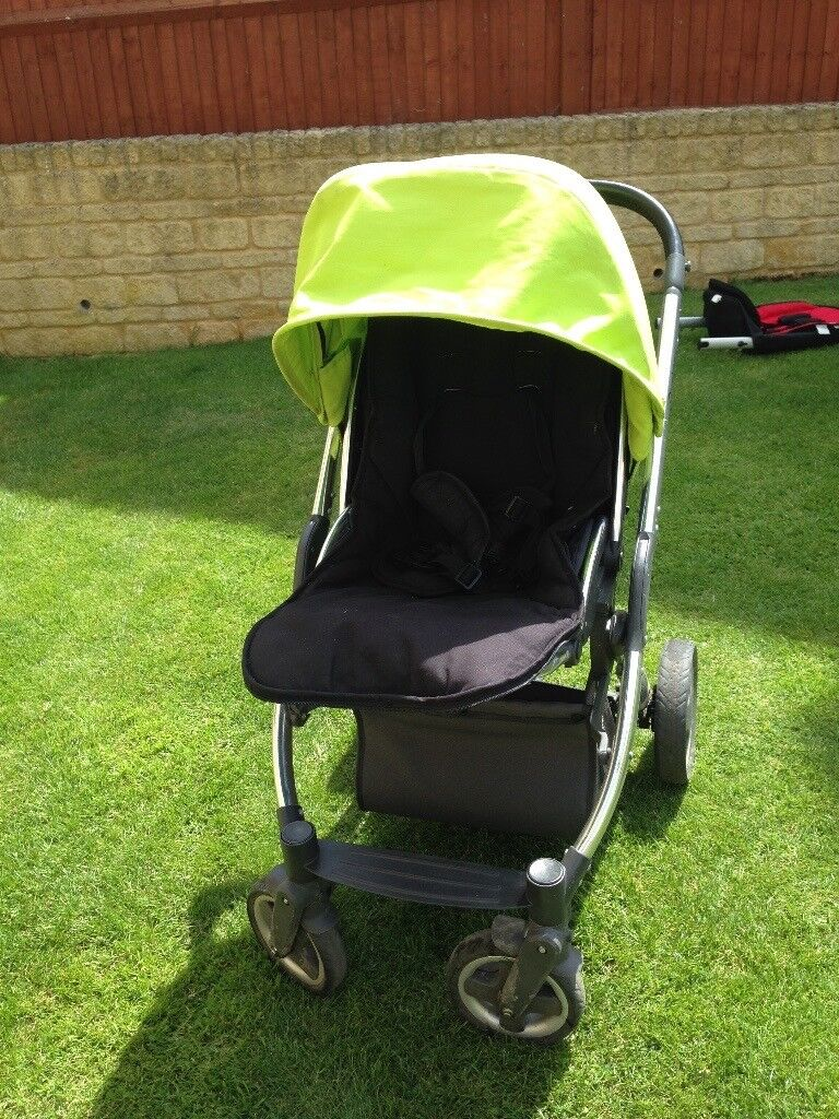 Babystyle oyster pushchair with carrycot & extras