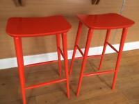 2x Bar stools Habitat, great condition. £90