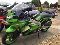 Kawasaki Zx6r Ninja 1999. Only 9000 Miles! Good Condition. 1999. 12month MOT