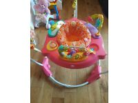Fisher Price Baby Bouncer Pink Petals Jumperoo