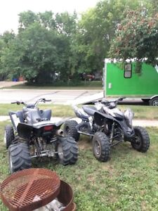 PACKAGE DEAL 2009 Honda TRX/2006 Yamaha raptor