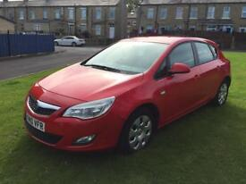 VAUXHALL ASTRA EXCLUSIV 1.7 CDTI 1686CC DIESEL 2010 £30 TAX LEATHERS 41,000 LOW MILES