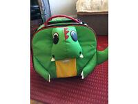 Dinosaur shaped kids suitcase