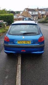 (Spares or Repairs) 53 Plate Peugeot 206, FAILED MOT But still has 2 weeks left!