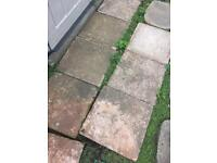 14 stepping stones / small slabs