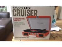 Crosley cruiser record player