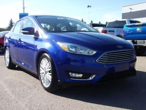 2015 Ford Focus TITANIUM TECHNOLOGY PACKAGE CERTIFIED PRE OWNED