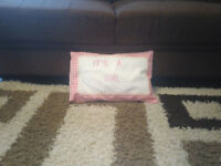 """IT's A Girl"" cushion"