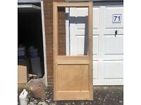 Brand new Softwood Door, unused