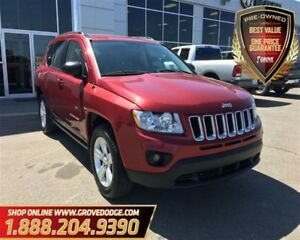 2012 Jeep Compass Sport| 4X4| Cloth| Heated Front Seats| CD Play
