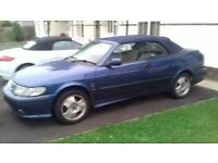 2001 SAAB 93 2.0I TURBO,CONVERTIBLE, POWER ROOF,LOVELY ORDER.