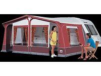 Red Dorema caravan awning size 10. £150