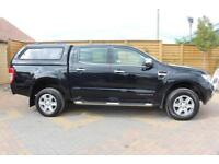 2014 FORD RANGER LIMITED 3.2 TDCI 200 4X4 DOUBLE CAB WITH TRUCKMAN TOP PICK UP D