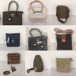 Designer Brand Purses, Bags, Wallets, All New Items