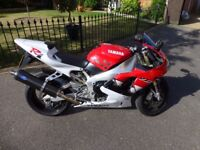 Yamaha R1 4xv, 16500 Miles in great condition and nice extras.