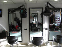 Hair Stylists Required - Full and Part Time on a self employed basis. Chairs to rent in Salon