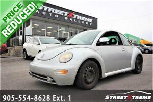 2000 Volkswagen New Beetle GLS | LEATHER INTERIOR | HEATED SEATS