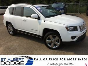 2015 Jeep Compass LIMITED | 4X4 | BACK CAM | PWR SUN | HEAT SEAT