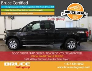 2015 Ford F-150 XLT 2.7L 6 CYL ECOBOOST AUTOMATIC 4X4 SUPERCAB
