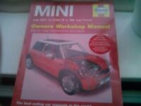 Haynes Mini Workshop Manual.