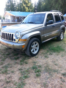 Jeep Liberty 134km. 3.7V6, Auto. Clean jeep.