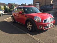 Mini Cooper 1.6 D (Chili Pack) immaculate cond £20 a year road Tax!! new MOT climate control FSH
