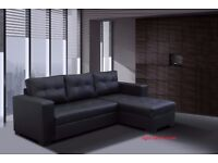 **BRAND NEW** GIANI SOFA BED, AVAILABLE IN LEATHER OR CORD FABRIC**VARIOUS COLOURS AVAILABLE