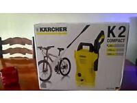Karcher K2 Compact Pressure Washer - new, unopened