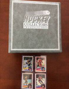Set complet Nr.Mint! 396 cartes de hockey vintage 1984-1985