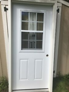 Used 36 Inch Steel Door