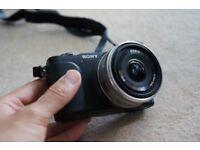 Sony NEX-3N Digital Camera Black (Only 682 Shots Taken) + Sony SEL16F28 Lens (£100 each separately)