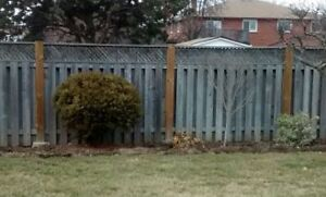 8 Foot Sections of Fence (12-16 sections)